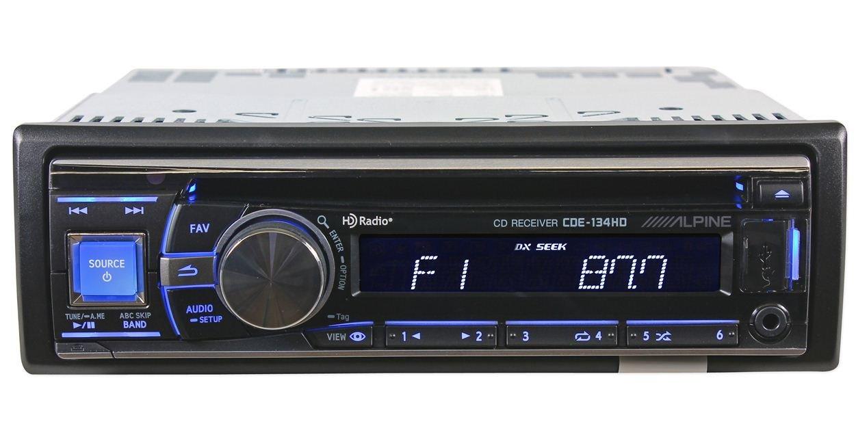 Amazon.com: Alpine Cde-134hd Cd Receiver with Hd Radio: Car Electronics
