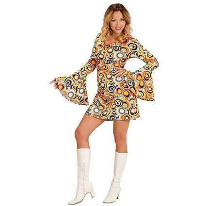 Net Toys Vestido Dama Años 70 Xl Es 4850 Disfraz