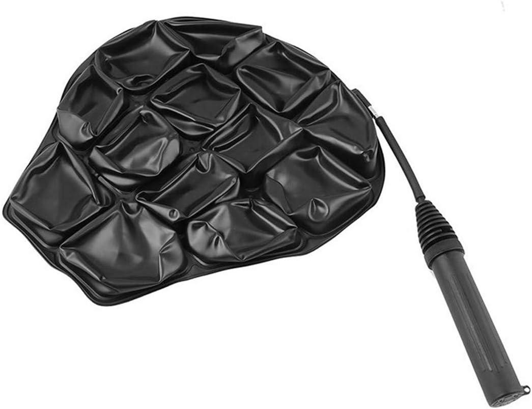 BCDZZ Coussin de si/ège de Moto Tapis de Coussin de si/ège Gonflable 3D Absorbant Les Chocs Universel Accessoires de Moto