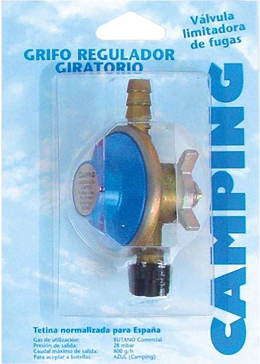 Kit regulador para botella BUTSIR Azul: Amazon.es: Jardín