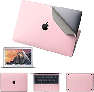Premium 5-in-1 MacBook Full Body 3M Protective Skin Decals Stickers for MacBook Pro 15.4
