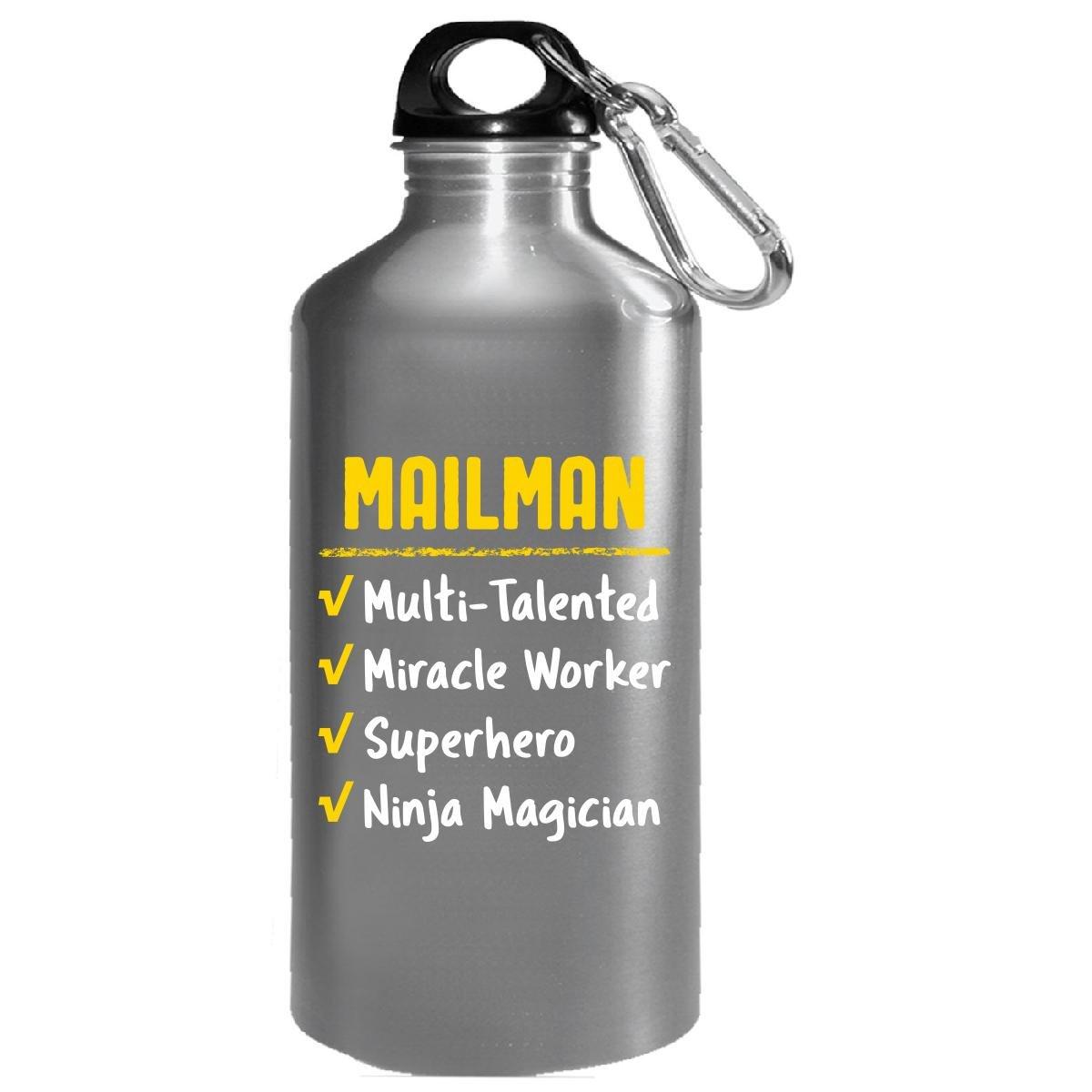 Amazon.com : Mailman Miracle Worker Superhero Ninja Funny ...