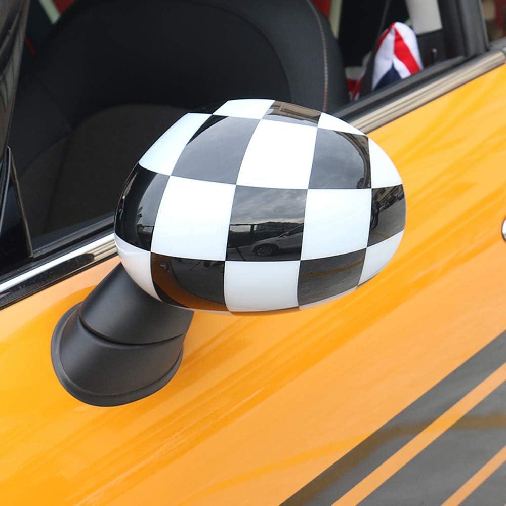 Lot de 2 Coques de r/étroviseur de Voiture pour Mini Cooper S Clubman Countryman Paceman R55 R56 R57 R58 R59 R60 R61 4.4