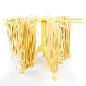 Hin Plus Pasta Drying Rack Collapsible (Yellow)