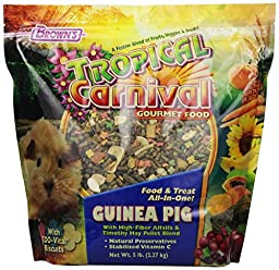 F.M. Brown\'s Tropical Carnival Guinea Pig Food, 5-Pound
