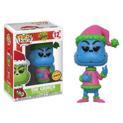 How the Grinch Stole Christmas! Santa Grinch Chase Ver. Pop! Books Vinyl Figure: Toys & Games