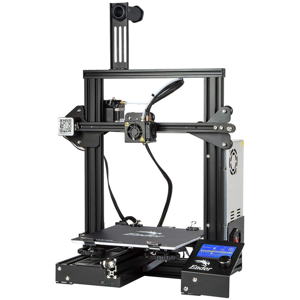 creality ender 3 3d printer with resume printing function