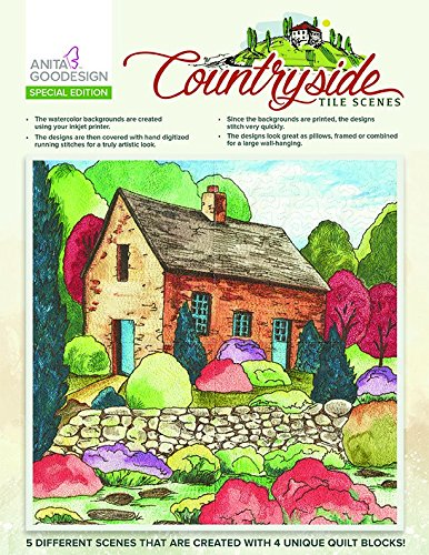 Anita Goodesign Embroidery Designs Countryside Tile Scenes