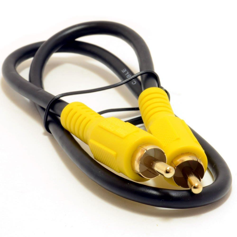 Fono Clavija Digital Coaxial SPDIF Audio o Compuesto Vídeo Cable 1,2 m: Amazon.es: Electrónica