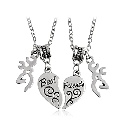 Amazon Stainless Steel Love Necklace Engraved Heart Shape Best