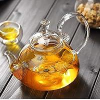 Teapot Lid Borosilicate Glass Tea Kettle Stovetop Safe