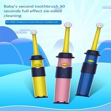 Maibeibi Newle niños Cepillo de Dientes eléctrico 1 Mango 4 ...