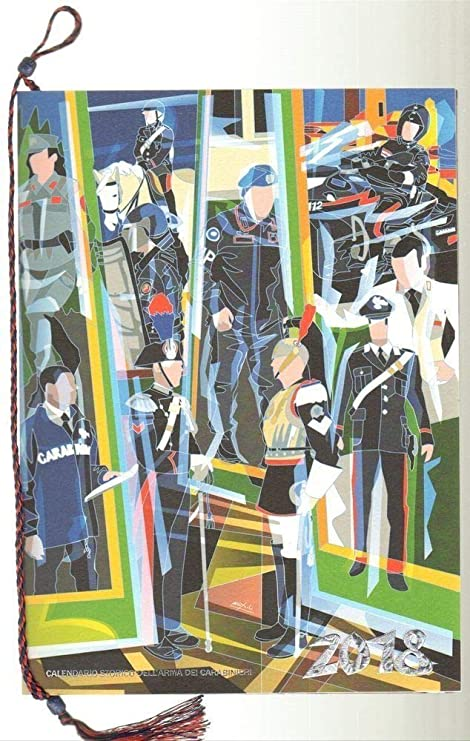 Calendario Carabinieri Dove Si Compra.Calendario Carabinieri 2018 Amazon It Cancelleria E