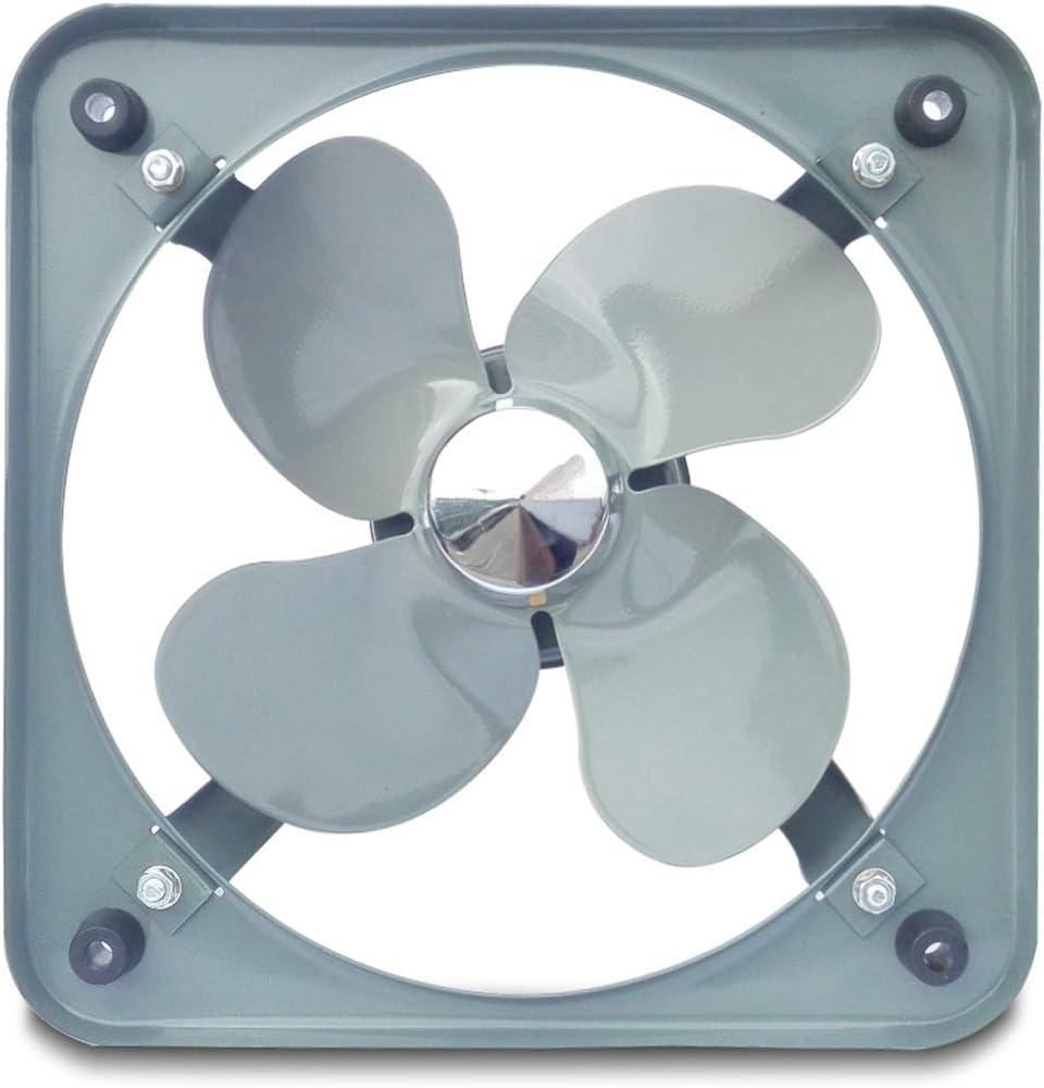 VentiladorExtractor Ventiladores de Escape domésticos Industria de bajo Ruido Ventilador Ventilador Tipo Ventana, for Cocina (Size : 10 Inches)