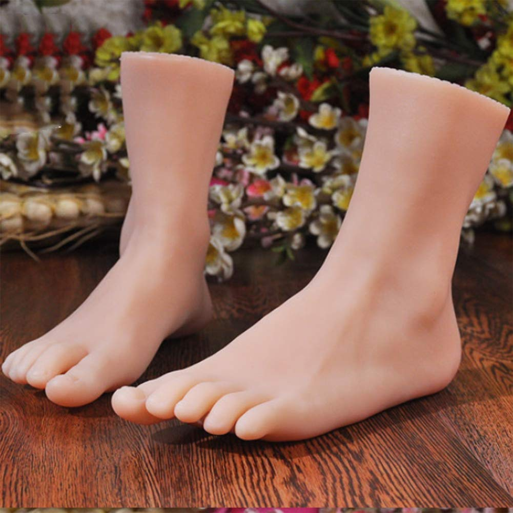 Amazon.com : JIAS Real Female Feet Model Simulation Model of Foot Fetish  Pictures Stockings Beauty Shop, Size 37 : Sports & Outdoors