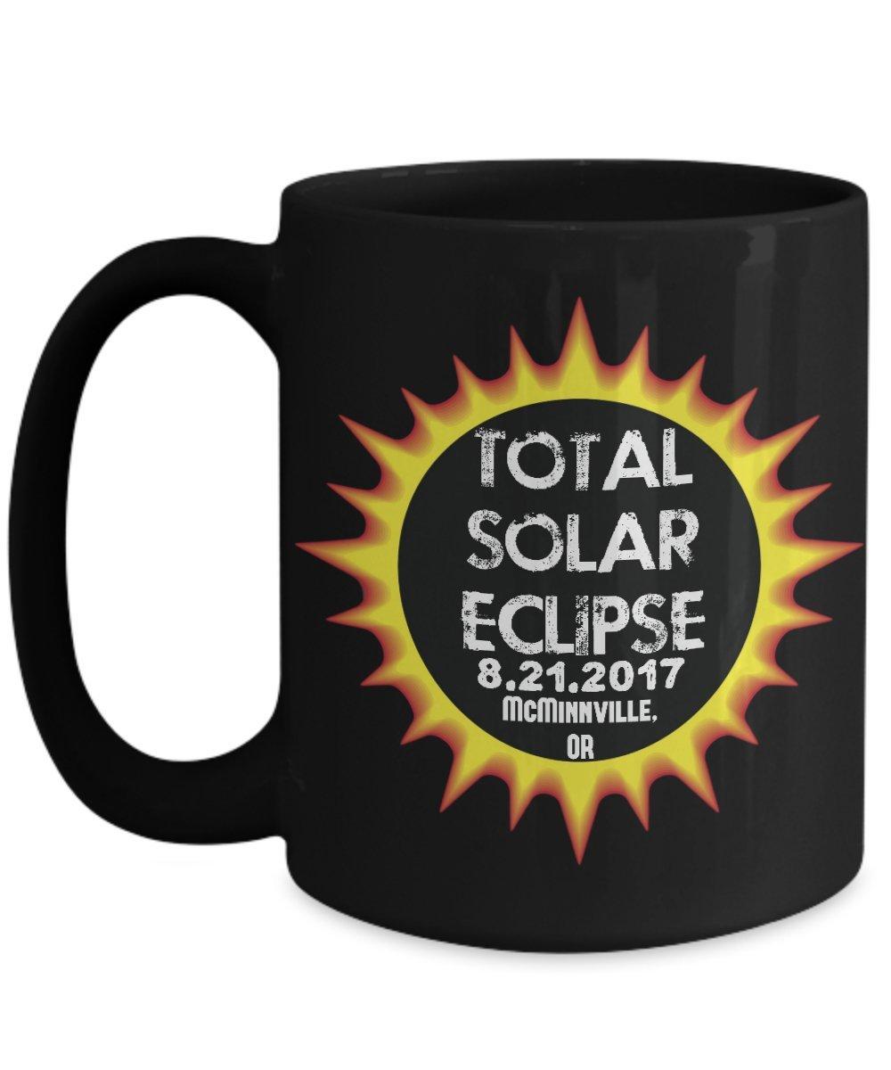 Total Solar Eclipse 2017 McMinnville, Oregon Commemorative Astronomy Mug