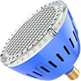 LAMPAOUS LED Pool Lights Bulb, RGB Muliti Color LED Swimming Pool Lights, E26 Base Par56 Under Water Lights Replacement…