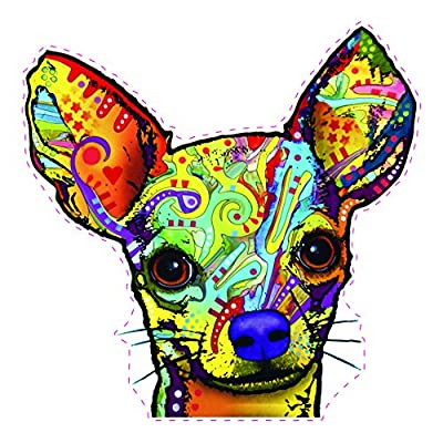 Enjoy It Dean Russo Chihuahua Car Stickers, 2 pieces: Kitchen & Dining