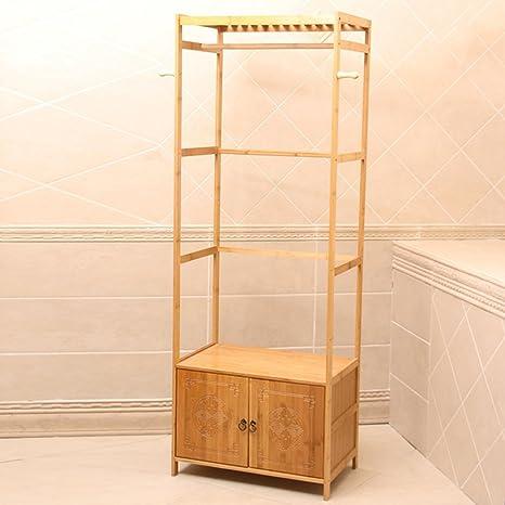 Amazon.com: LiRuiPeng GWDJ - Perchero de bambú para abrigo y ...