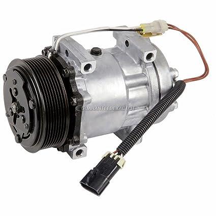 Amazon.com: New AC Compressor & A/C Clutch Sanden 4468 Style - BuyAutoParts 60-02131NA NEW: Automotive