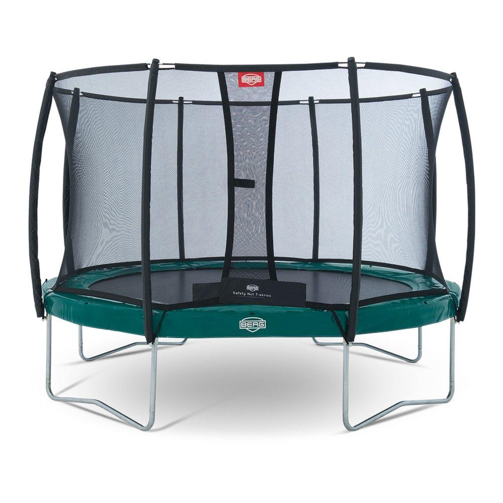Bergtoys Trampolin Elite+ grün 380 cm inkl. T-Series Netz - Regular