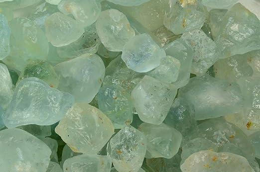 AA Grade Fantasia Materials 250 cts Untreated Natural Blue Topaz