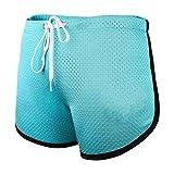 Ouber Men's Causal Sport Shorts Beachwear Homewear (A-Sky Blue,M)
