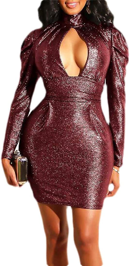 Mydeshop Bodycon Dress Cut...