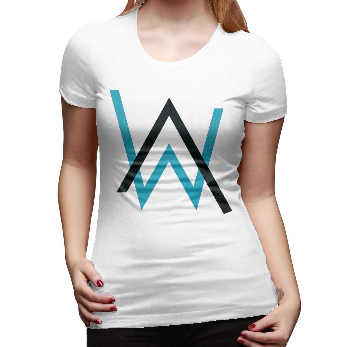 Rachel King Short Sleeve T Shirt European And American Street Trends Alan Walker Logo 1937