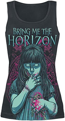 Bring Me The Horizon My Little Devil Top donna nero