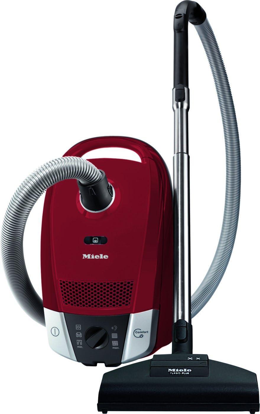 Miele Compact C2 Cat&Dog PowerLine - Aspiradora, color rojo ...