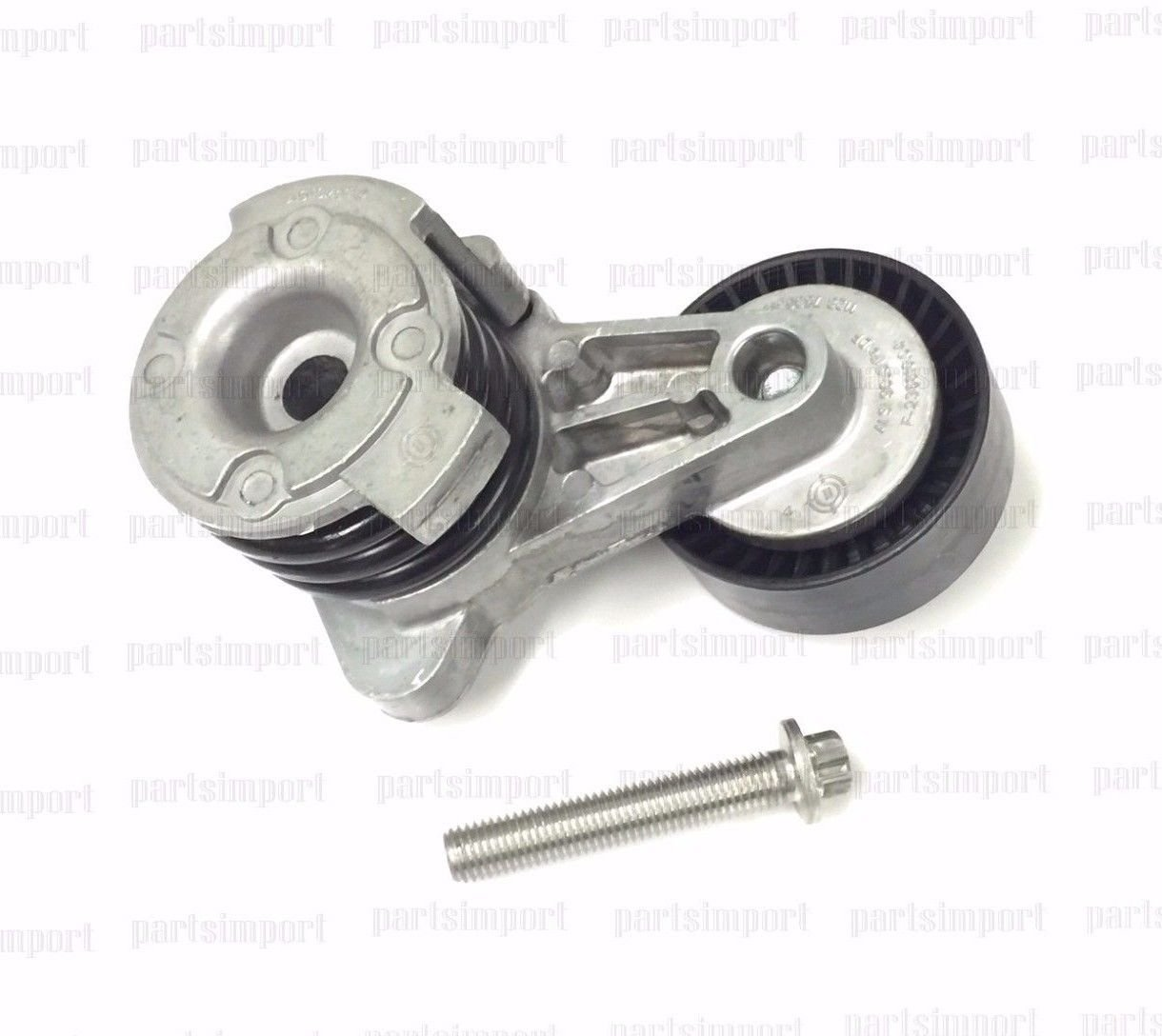 BMW Drive Belt Tensioner with Pulley Bolt
