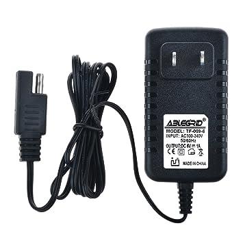 Amazon.com: ablegrid 4 ft 6 V adaptador de CA cargador paseo ...
