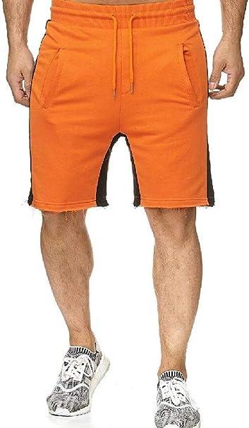 Jotebriyo Mens Casual Active Stretch Elastic Waist Gym Trainning Shorts Sweatpants