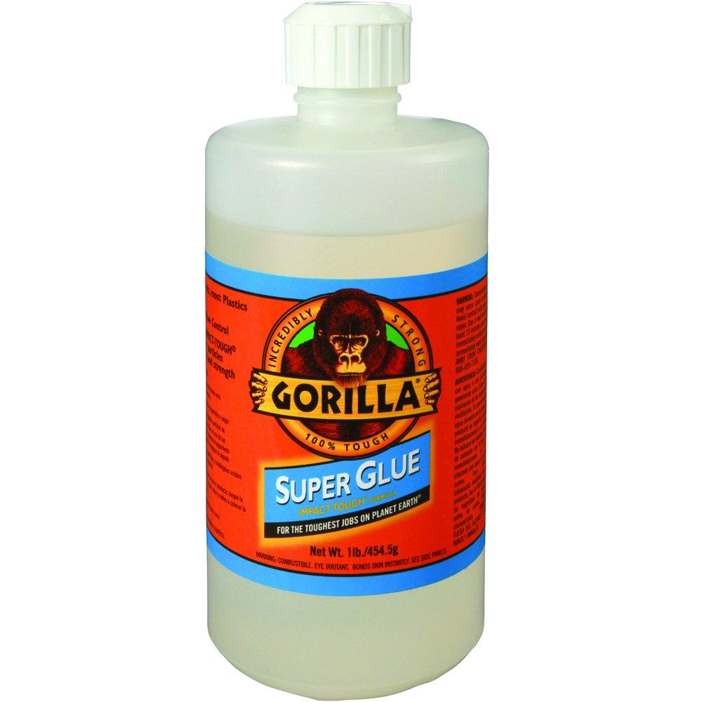 Gorilla ADHGG12 Super Glue, 16 oz.