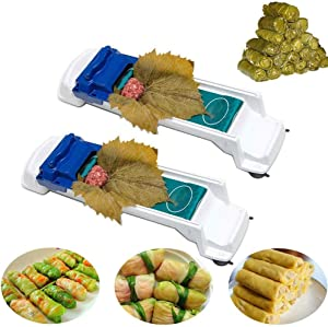 UEncounter Meat Rolling Tool,Vegetable Meat Roller Sushi Maker Stuffed Grape Cabbage Machine Home Kitchen Tool