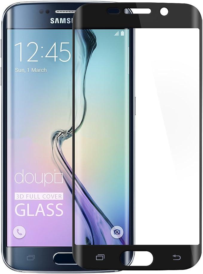 Doupi Fullcover Panzerfolie Für Samsung Galaxy S6 Edge Plus Preimium 9h Hartglas Hd Displayschutz Anti Kratzer