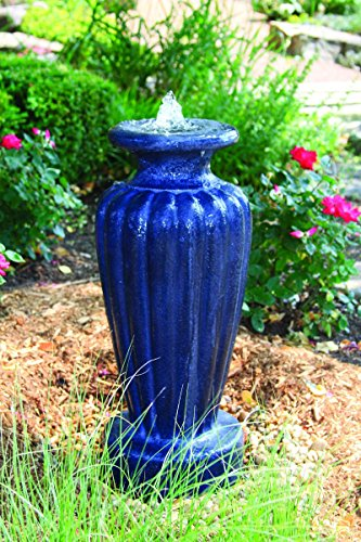 Aquascape Classic Greek Urn Fountain with Pump Slate, Large, Gray by Aquascape