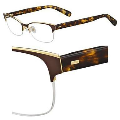 Eyeglasses Bobbi Brown The Baxter 04IN Semi Matte Brown at Amazon ...