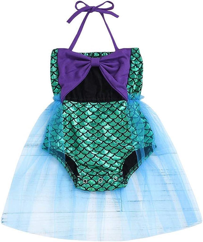 PinkLu bebé Niña Ropa de baño 2019 Linda Diseño de Escamas de ...