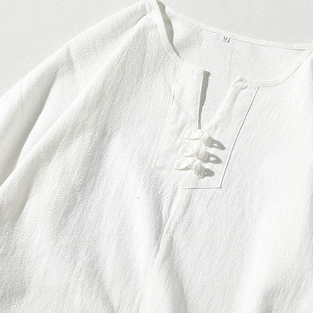 ITISME MEN Summer Mens Cotton and Linen Short Sleeve Shorts Set Suit Tracksuit