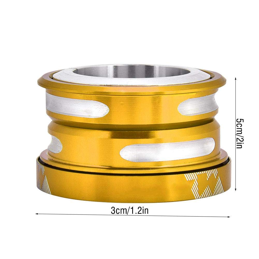 44mm Handlebar Riser Adapter Internal Sealed Bearing Headset Spacer for 28.6 mm Front Fork Bike Bearing Headset
