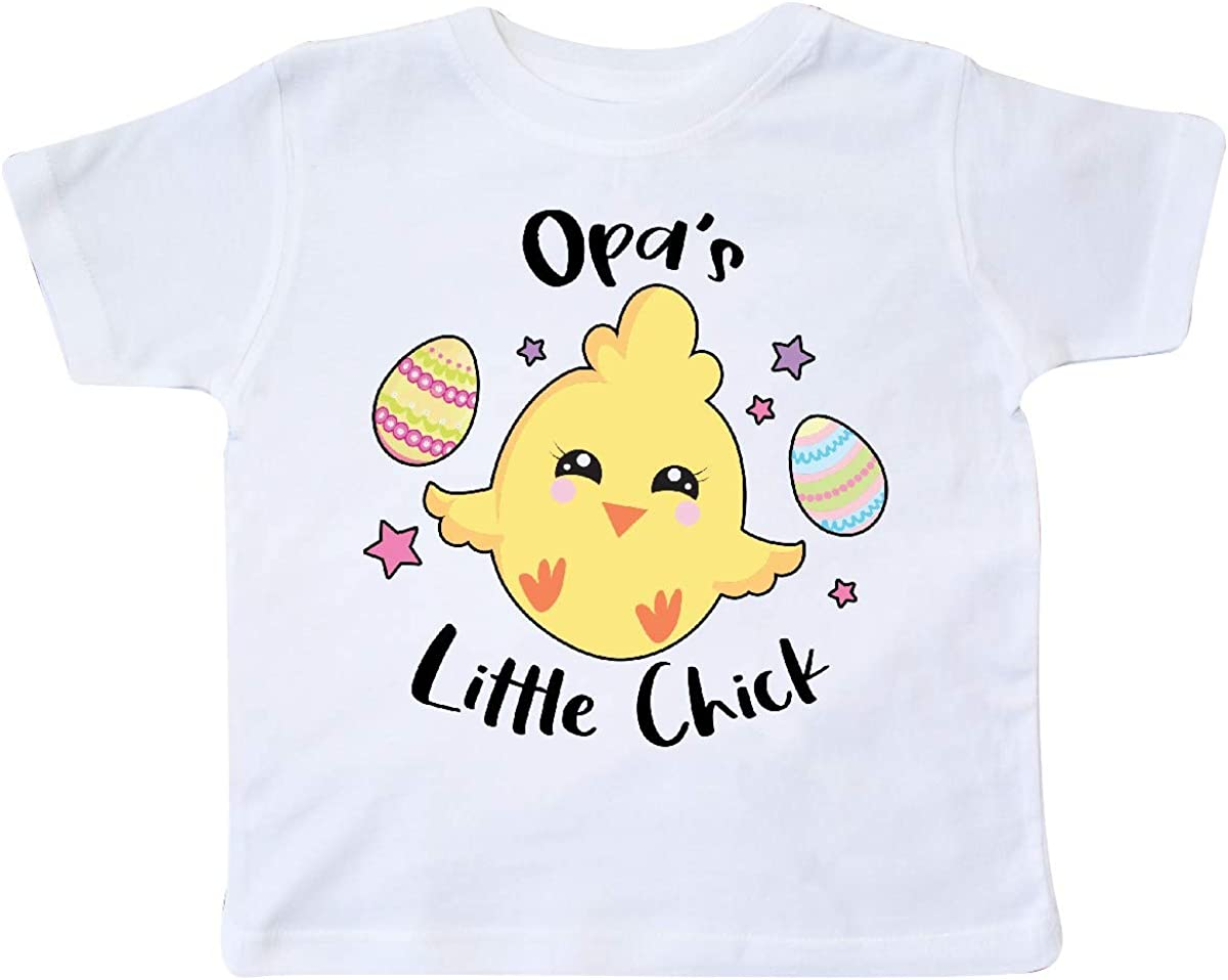 inktastic Happy Easter Opas Little Chick Toddler T-Shirt