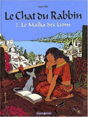 Le Chat du Rabbin - série en cours n° 2 Le Malka des Lions