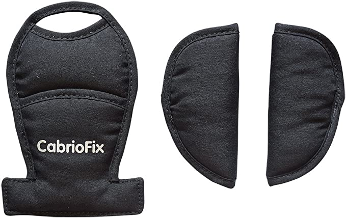 1-3-orange BELTS PADS SHOULDER STRAP AND CROTCH COVER fits MAXI COSI Cabriofix Cabrio car seat