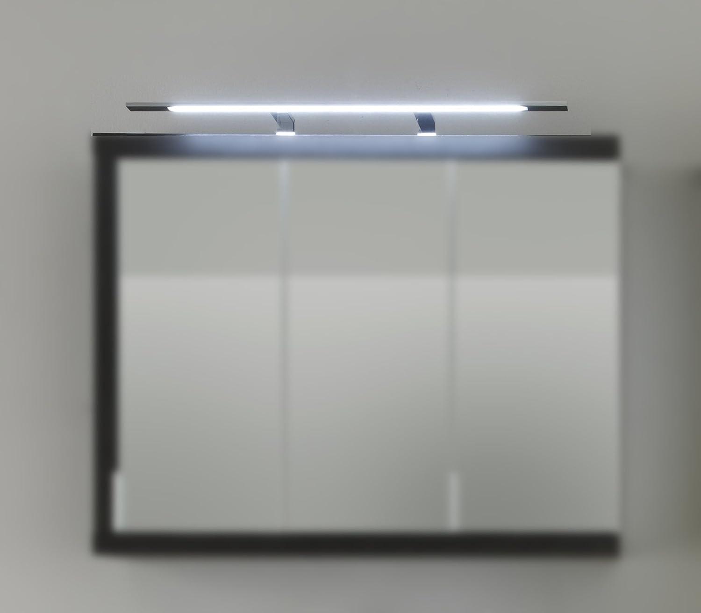 Trendteam 1100-226-00 Luminaire de salle de bains et boîtier interrupteur-prise pour armoire avec miroir
