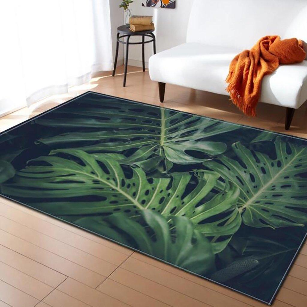 Creative Light-Teppich 3D Blaumenmuster Soft Rechteckig Anti-Rutsch-Large Größe Teppich für Wohnzimmer Moderne Schlafzimmer Tee Tabelle Indoor-Matten (Farbe    7, Größe   150x200cm)