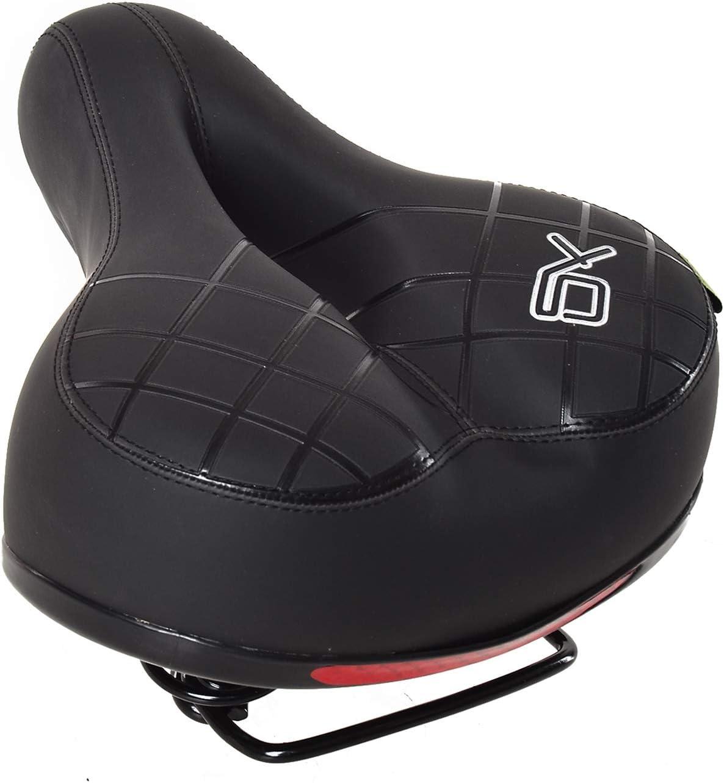 Comfort Universal MTB Extra Wide Big Bum Soft Road Bike Bicycle  Seat Saddle US
