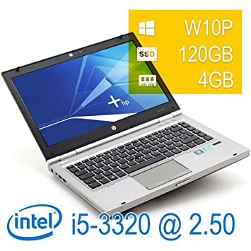 Notebook HP - Intel i5 - 3320 m RAM GB SSD 120GB DVD w10p Update garantía de 1 año (reacondicionado Certificado): Amazon.es: Informática