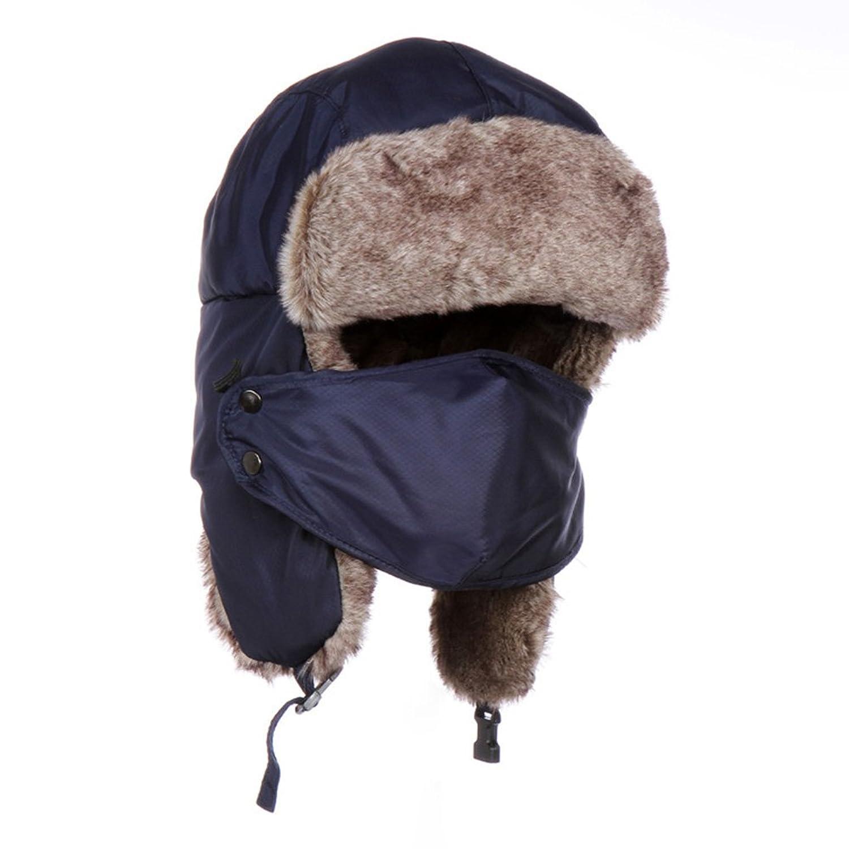 Highdas Dickes Cap Warme Winter Mutze windundurchlassiges Mutze Damen Herren Madchen Jungen Ski Caps